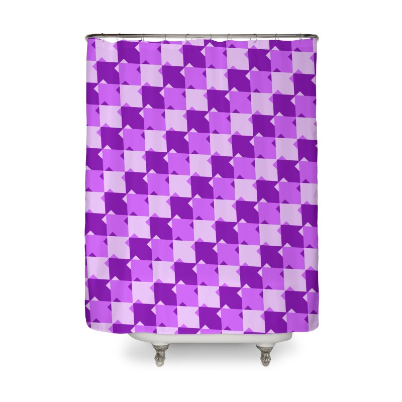 PRP Home Shower Curtain by WatchPony Clothing Collection