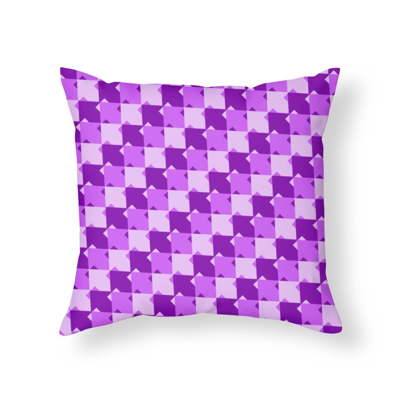 PRP Home Throw Pillow by WatchPony Clothing Collection