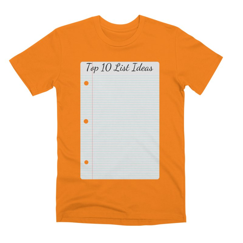 Brain Stormin' Men's Premium T-Shirt by WatchPony Clothing Collection