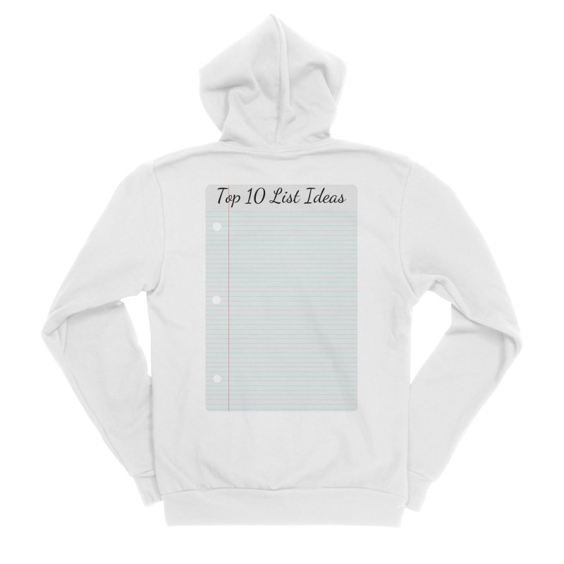 Brain Stormin' Men's Zip-Up Hoody by WatchPony Clothing Collection