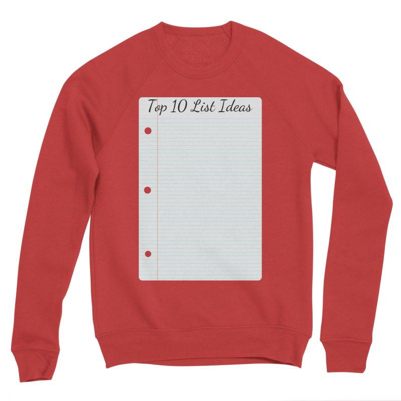 Brain Stormin' Men's Sponge Fleece Sweatshirt by WatchPony Clothing Collection