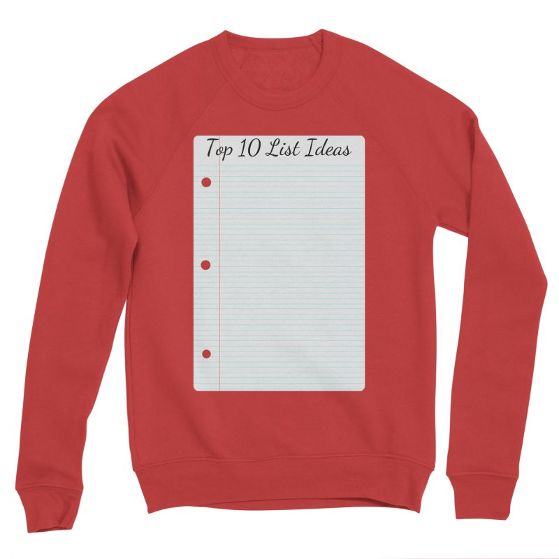 Brain Stormin' Women's Sponge Fleece Sweatshirt by WatchPony Clothing Collection