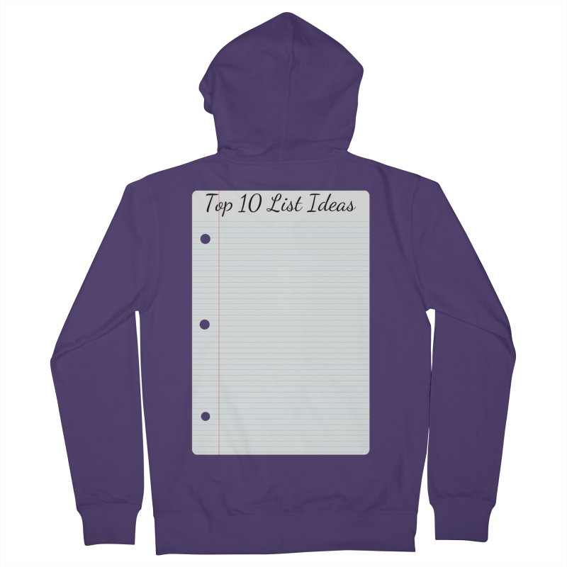 Brain Stormin' Women's French Terry Zip-Up Hoody by WatchPony Clothing Collection