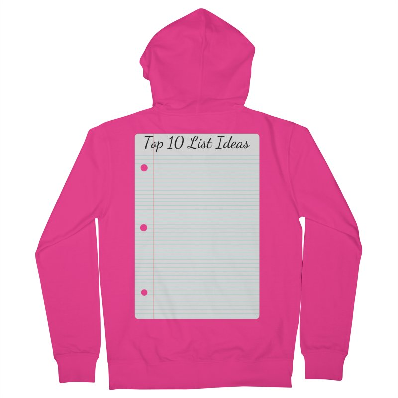 Brain Stormin' Men's French Terry Zip-Up Hoody by WatchPony Clothing Collection