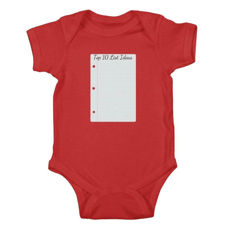 Brain Stormin' Kids Baby Bodysuit by WatchPony Clothing Collection