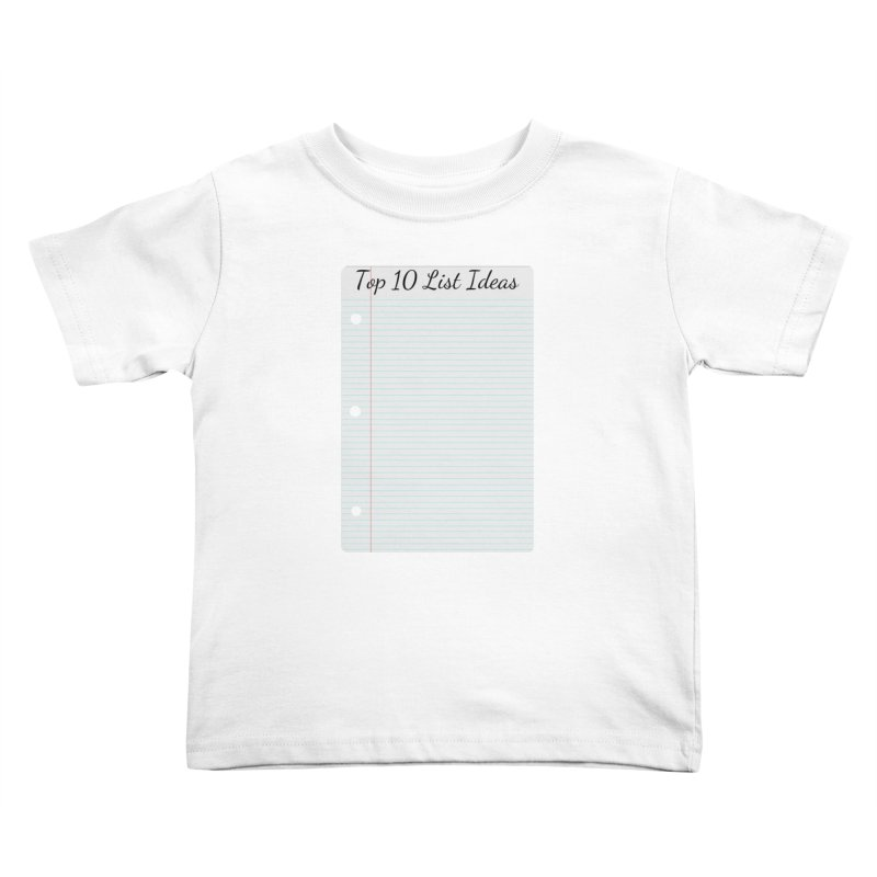 Brain Stormin' Kids Toddler T-Shirt by WatchPony Clothing Collection