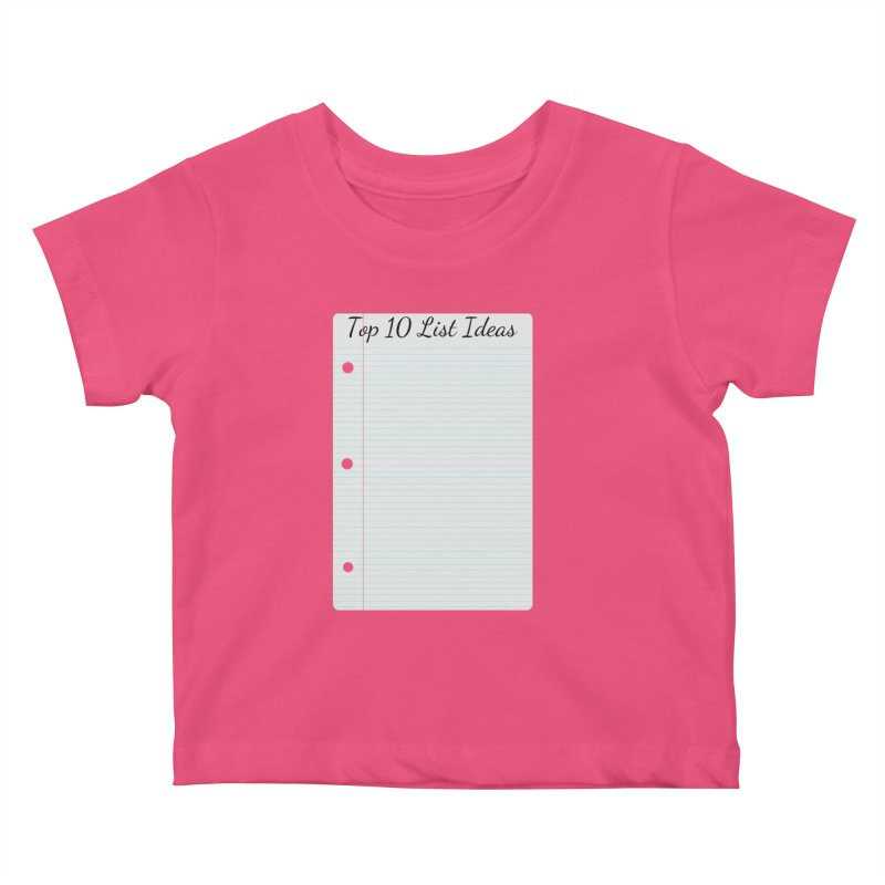 Brain Stormin' Kids Baby T-Shirt by WatchPony Clothing Collection