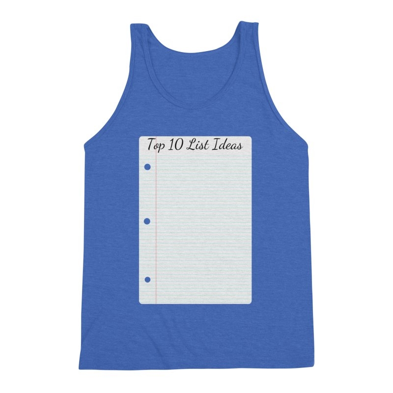 Brain Stormin' Men's Triblend Tank by WatchPony Clothing Collection
