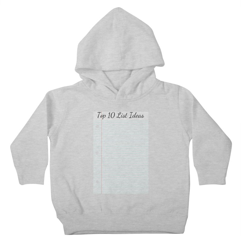 Brain Stormin' Kids Toddler Pullover Hoody by WatchPony Clothing Collection