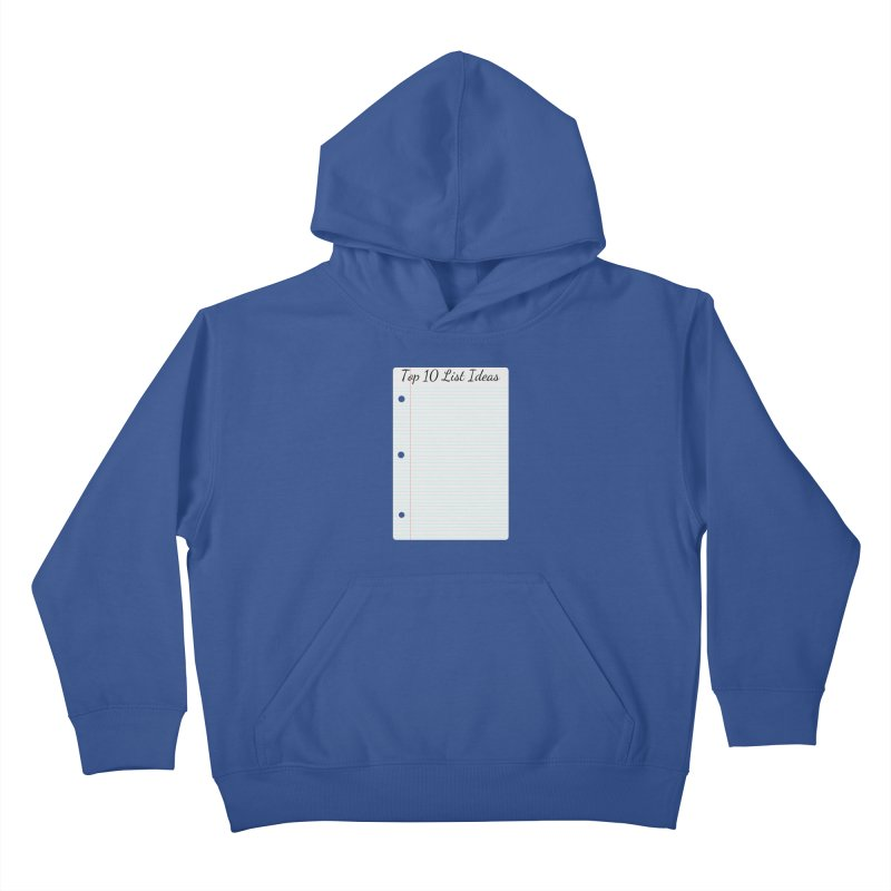 Brain Stormin' Kids Pullover Hoody by WatchPony Clothing Collection