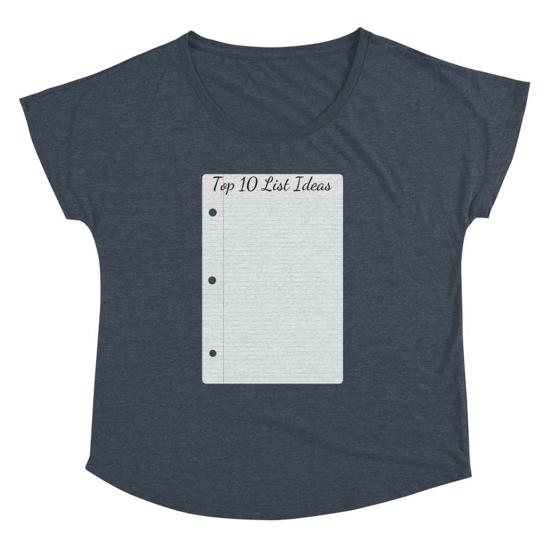 Brain Stormin' Women's Dolman Scoop Neck by WatchPony Clothing Collection