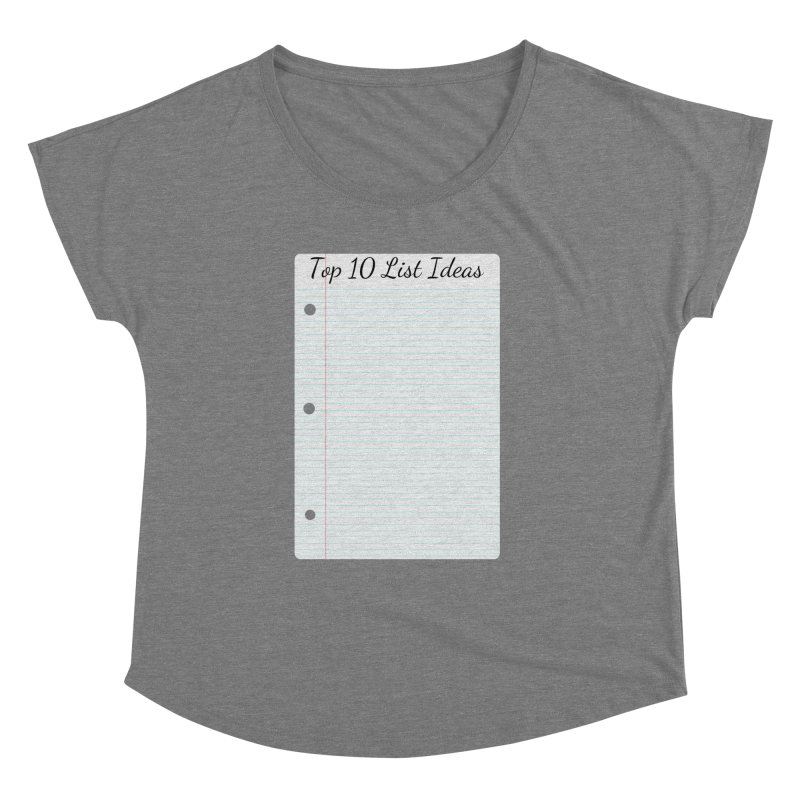 Brain Stormin' Women's Scoop Neck by WatchPony Clothing Collection