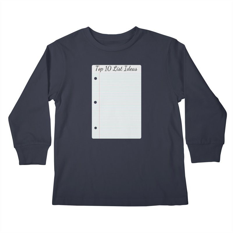 Brain Stormin' Kids Longsleeve T-Shirt by WatchPony Clothing Collection