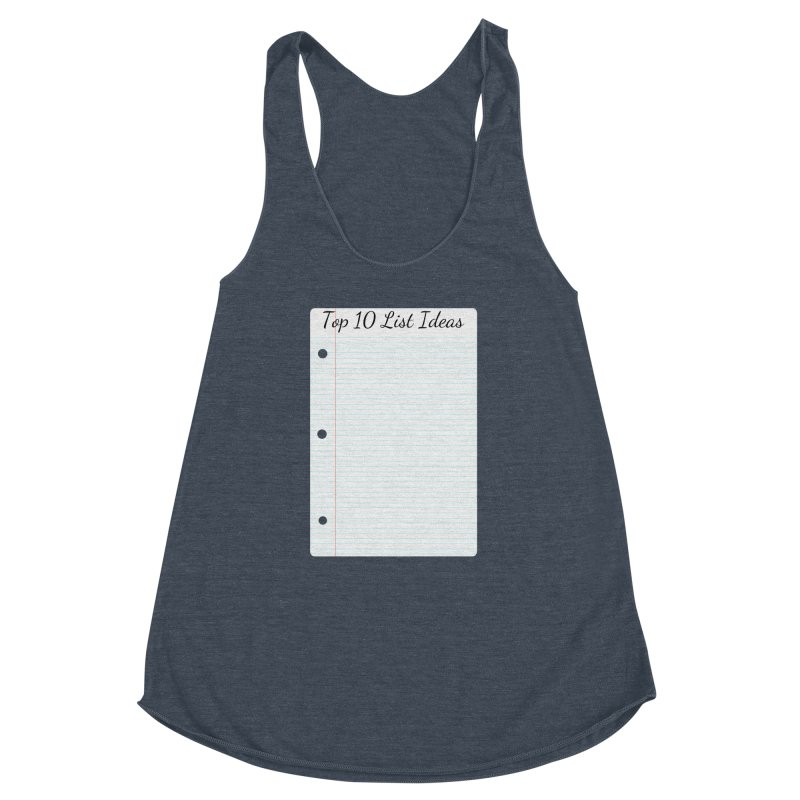 Brain Stormin' Women's Racerback Triblend Tank by WatchPony Clothing Collection