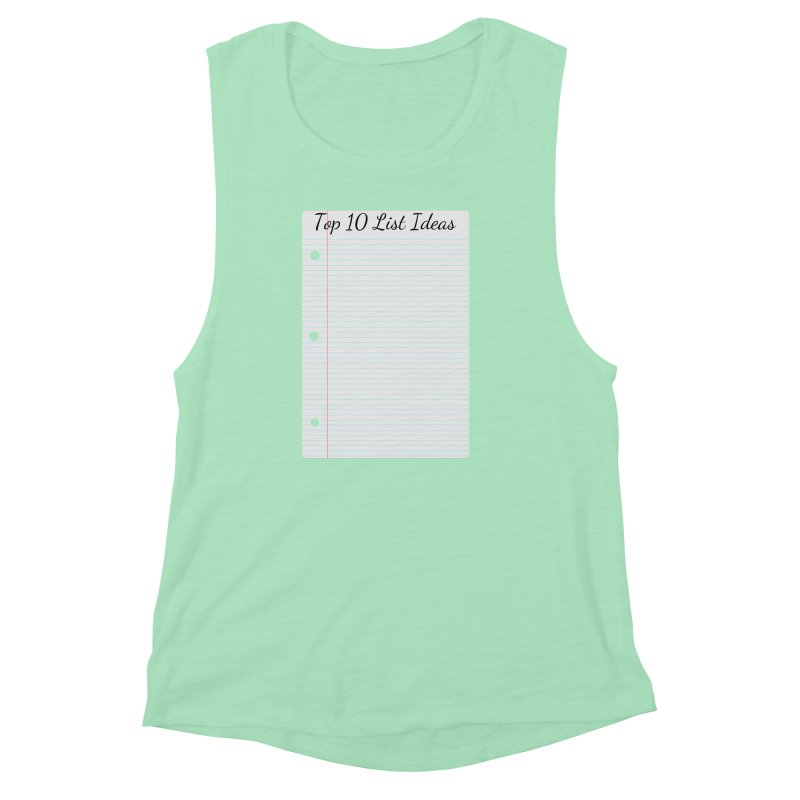 Brain Stormin' Women's Muscle Tank by WatchPony Clothing Collection