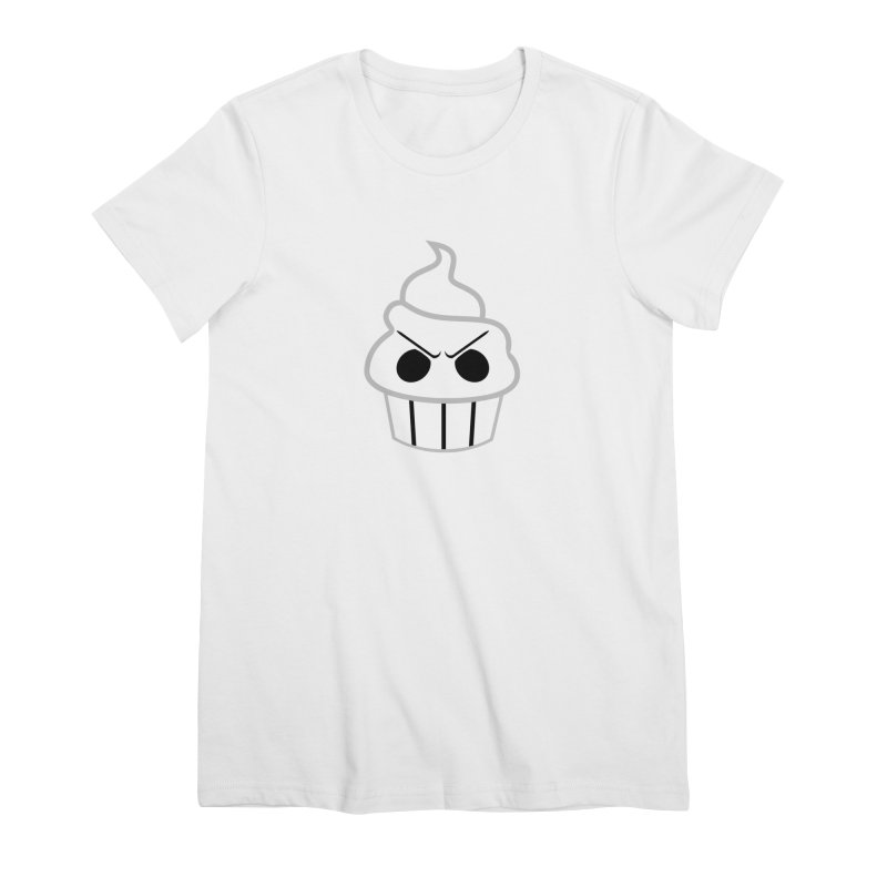 The Swirly Roger Women's Premium T-Shirt by WatchPony Clothing Collection