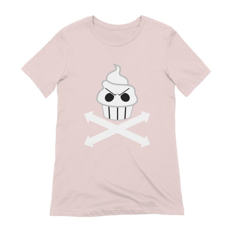 The Swirly Roger Women's T-Shirt by WatchPony Clothing Collection