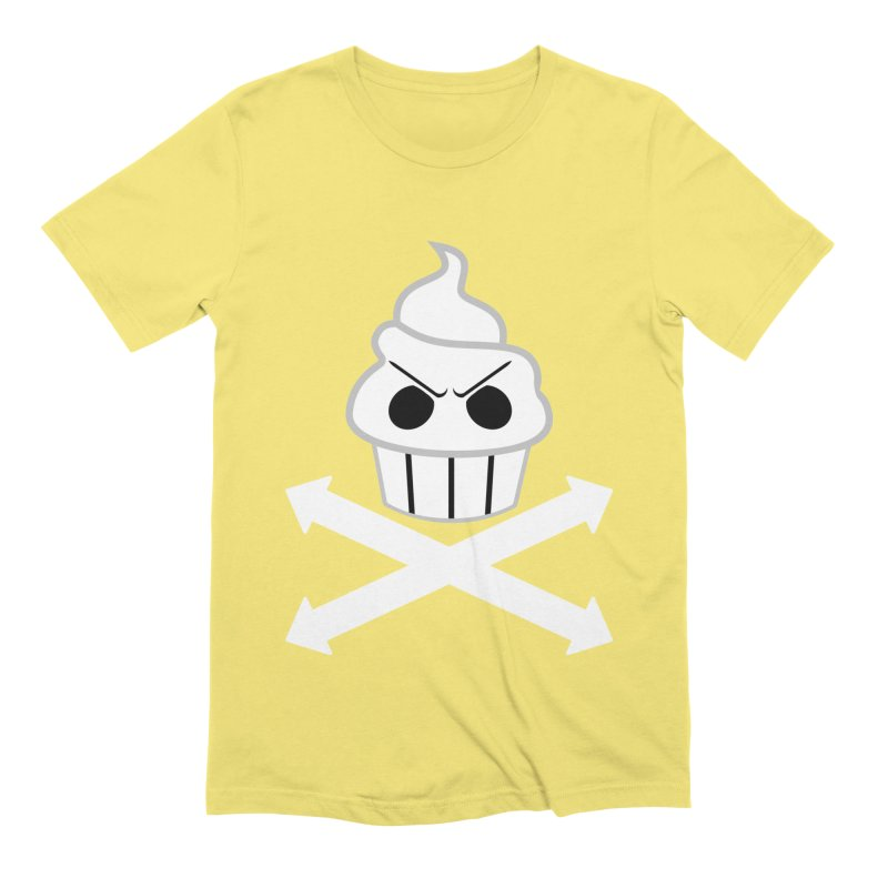 The Swirly Roger Men's Extra Soft T-Shirt by WatchPony Clothing Collection