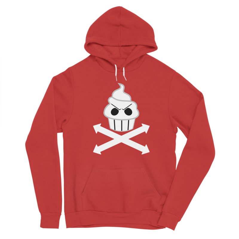 The Swirly Roger Women's Pullover Hoody by WatchPony Clothing Collection