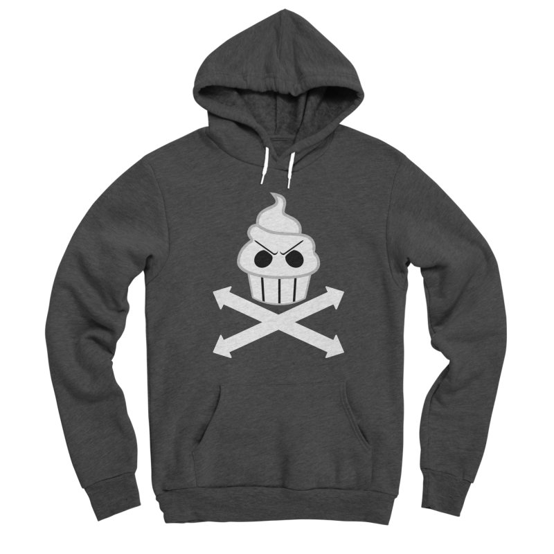 The Swirly Roger Men's Pullover Hoody by WatchPony Clothing Collection