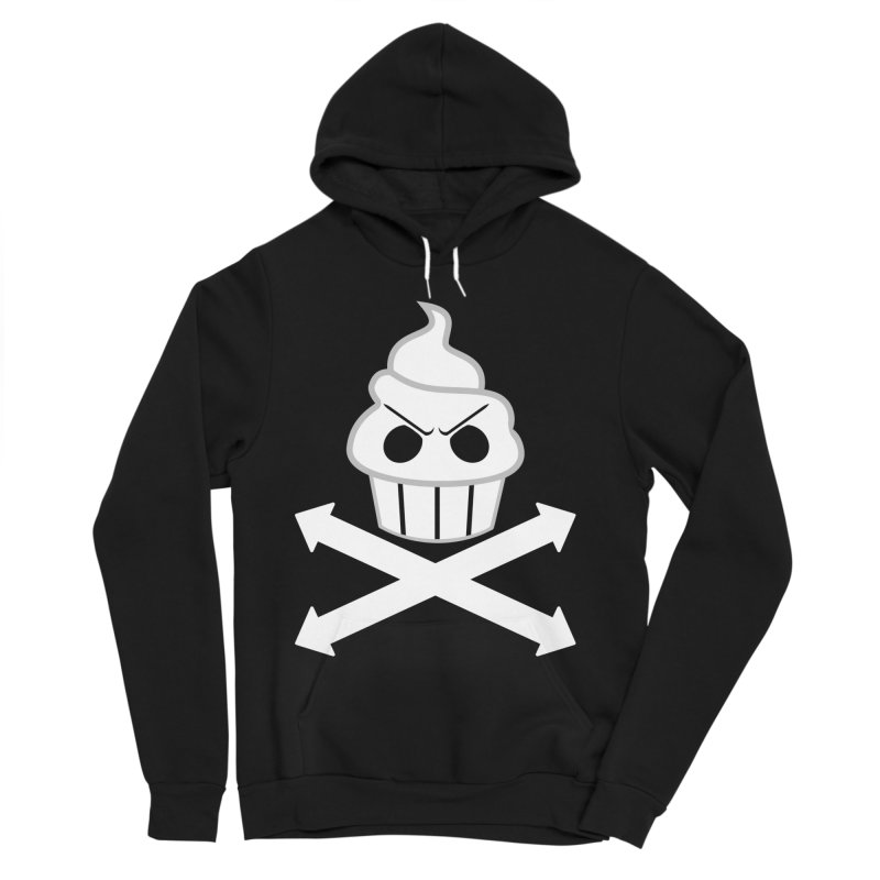 The Swirly Roger Men's Sponge Fleece Pullover Hoody by WatchPony Clothing Collection