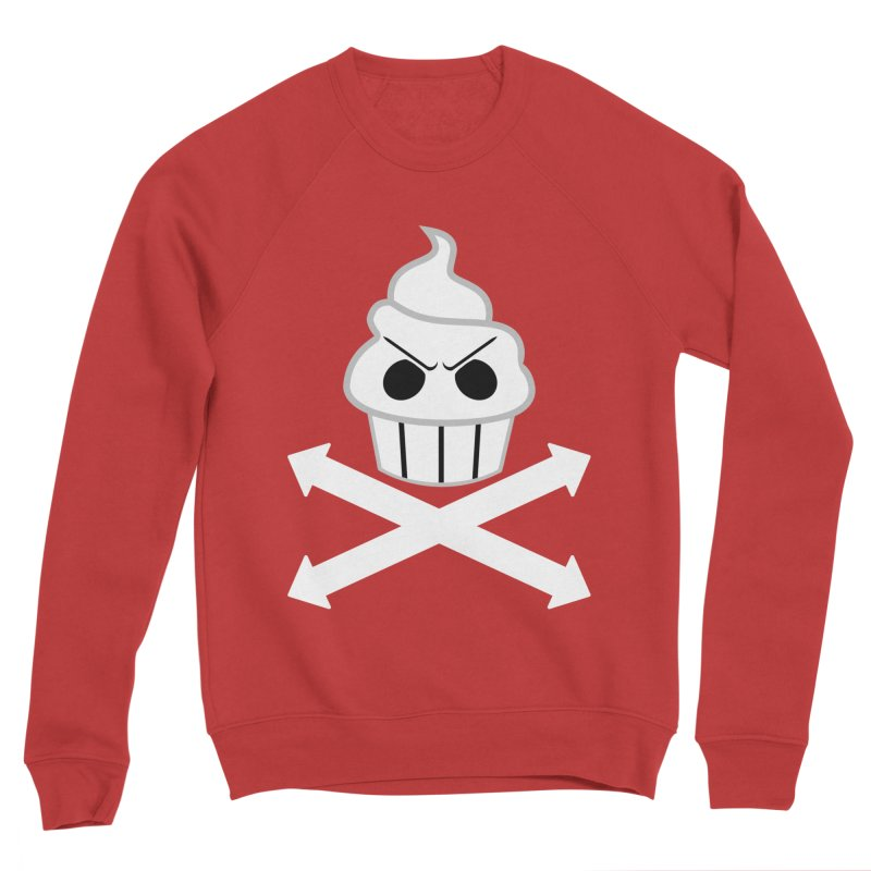 The Swirly Roger Women's Sponge Fleece Sweatshirt by WatchPony Clothing Collection