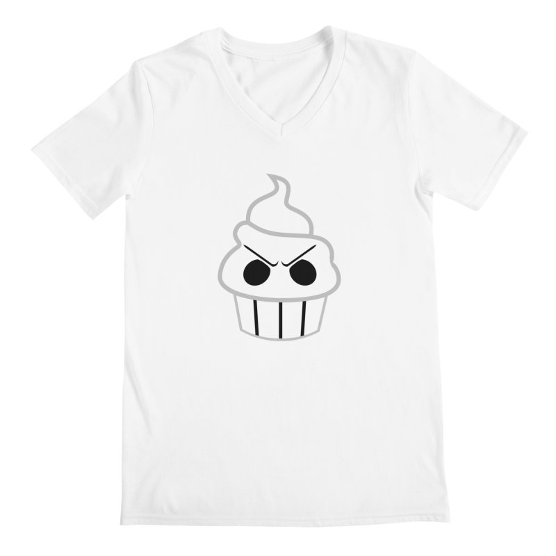 The Swirly Roger Men's V-Neck by WatchPony Clothing Collection