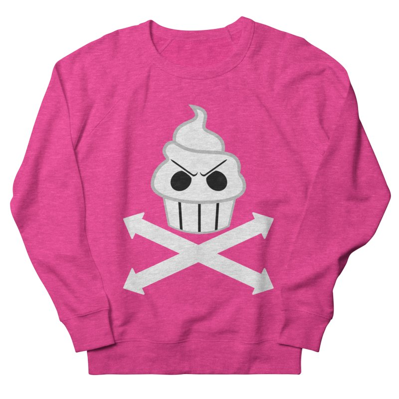The Swirly Roger Men's Sweatshirt by WatchPony Clothing Collection