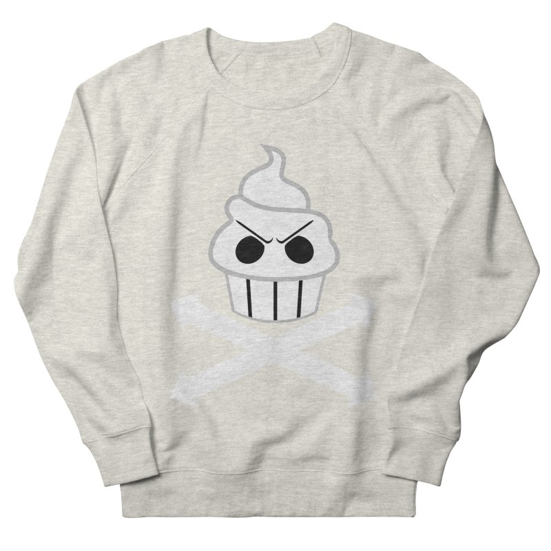 The Swirly Roger Men's French Terry Sweatshirt by WatchPony Clothing Collection