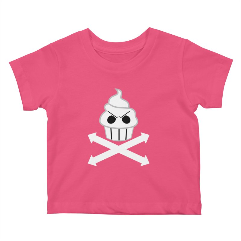 The Swirly Roger Kids Baby T-Shirt by WatchPony Clothing Collection