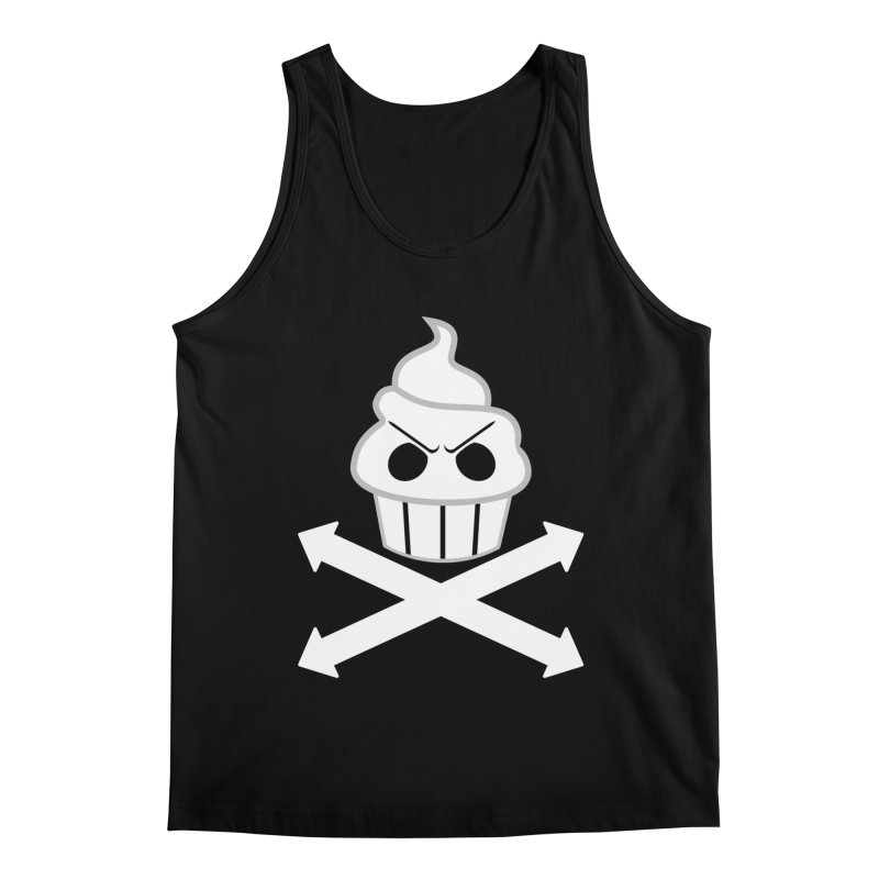 The Swirly Roger Men's Tank by WatchPony Clothing Collection