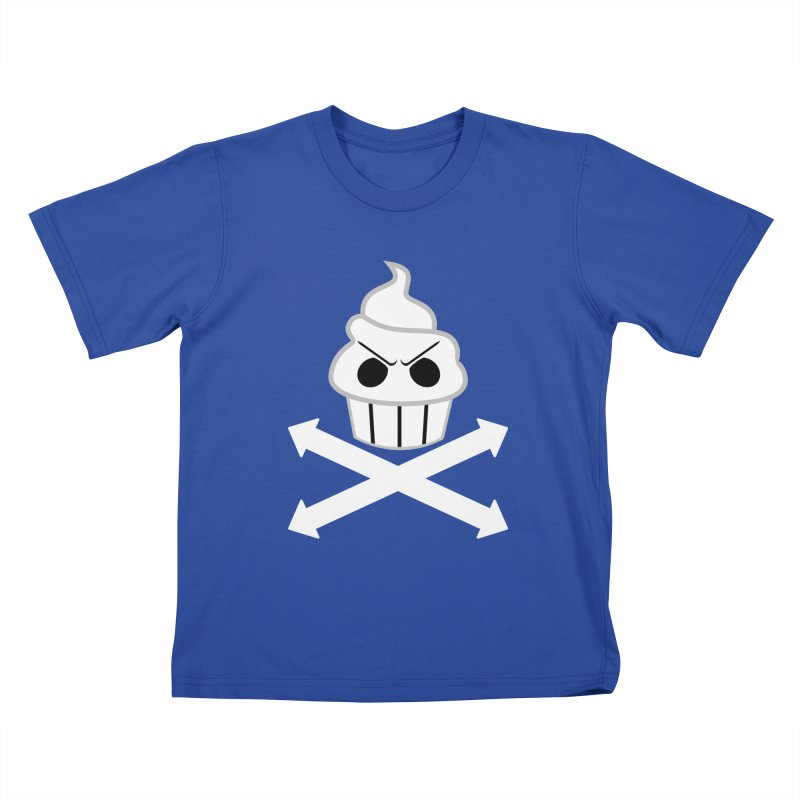 The Swirly Roger Kids T-Shirt by WatchPony Clothing Collection
