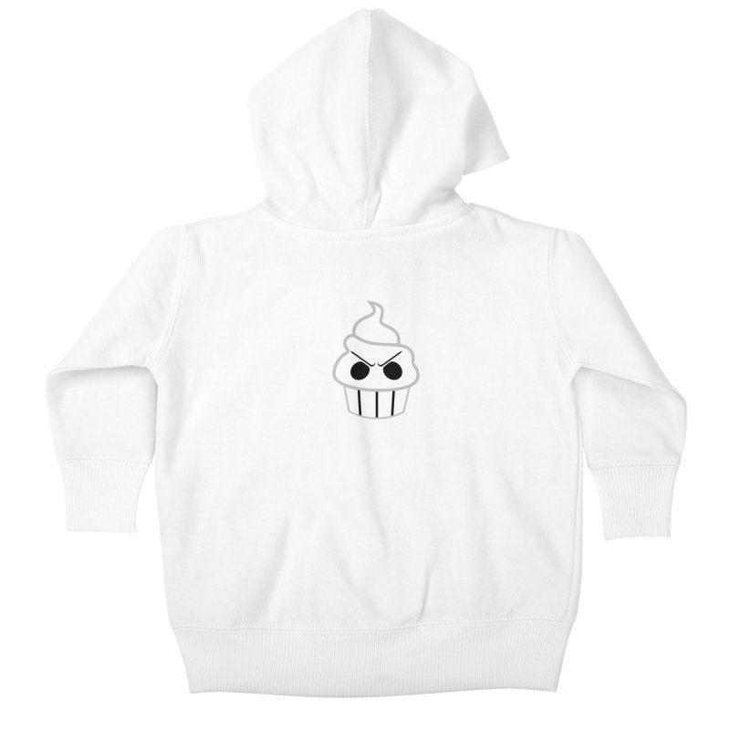 The Swirly Roger Kids Baby Zip-Up Hoody by WatchPony Clothing Collection