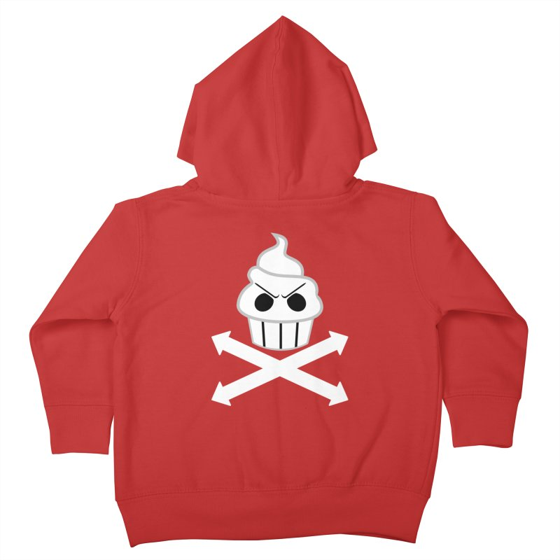 The Swirly Roger Kids Toddler Zip-Up Hoody by WatchPony Clothing Collection