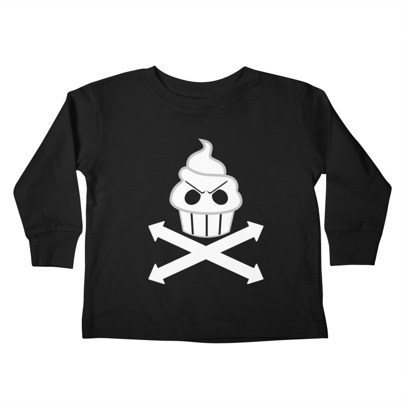 The Swirly Roger Kids Toddler Longsleeve T-Shirt by WatchPony Clothing Collection