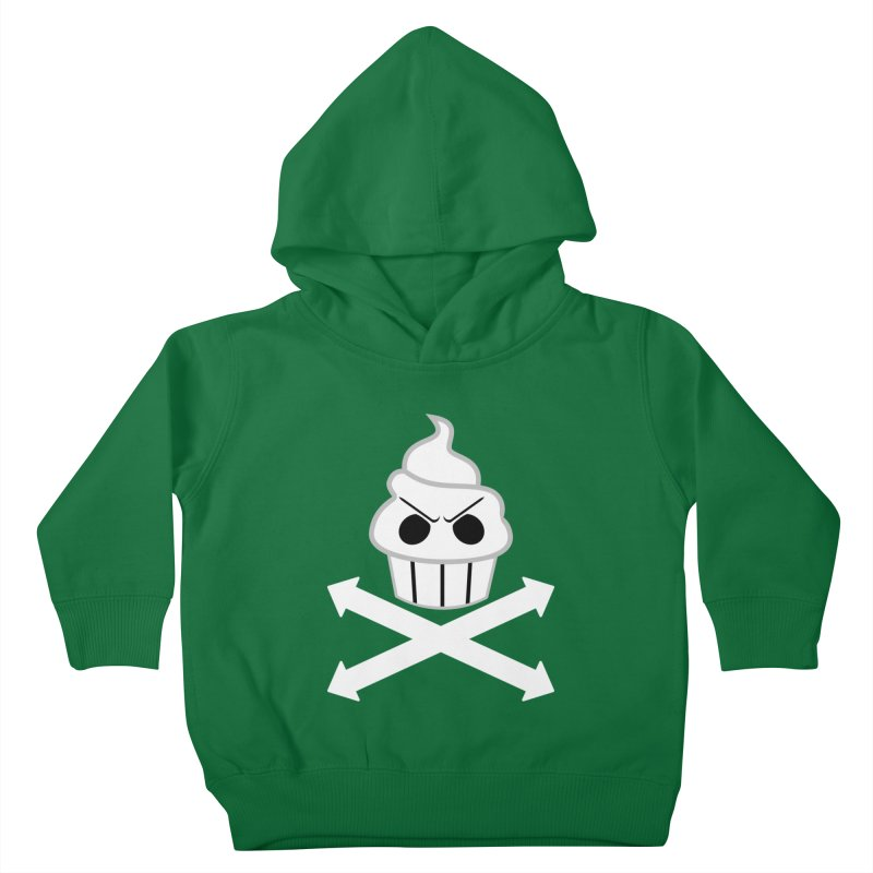 The Swirly Roger Kids Toddler Pullover Hoody by WatchPony Clothing Collection