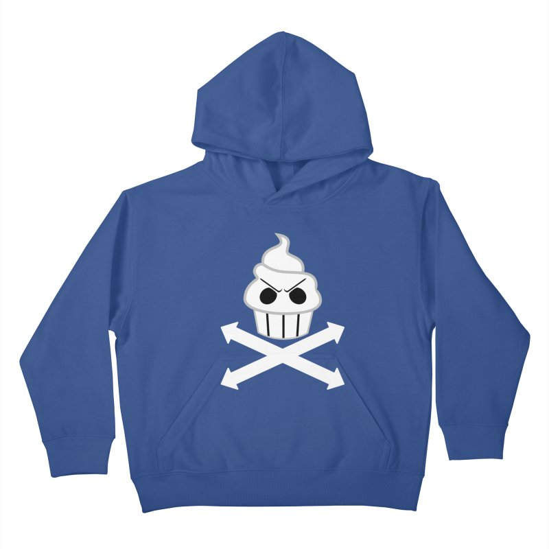 The Swirly Roger Kids Pullover Hoody by WatchPony Clothing Collection