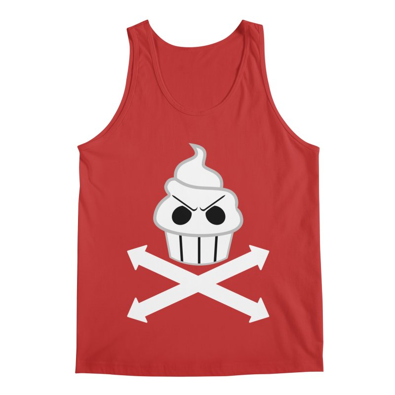 The Swirly Roger Men's Regular Tank by WatchPony Clothing Collection