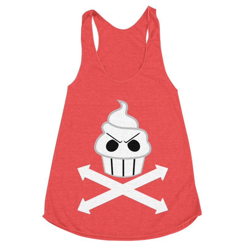 The Swirly Roger Women's Tank by WatchPony Clothing Collection