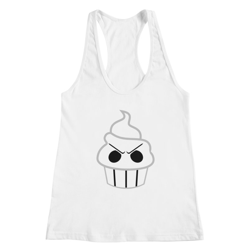 The Swirly Roger Women's Racerback Tank by WatchPony Clothing Collection