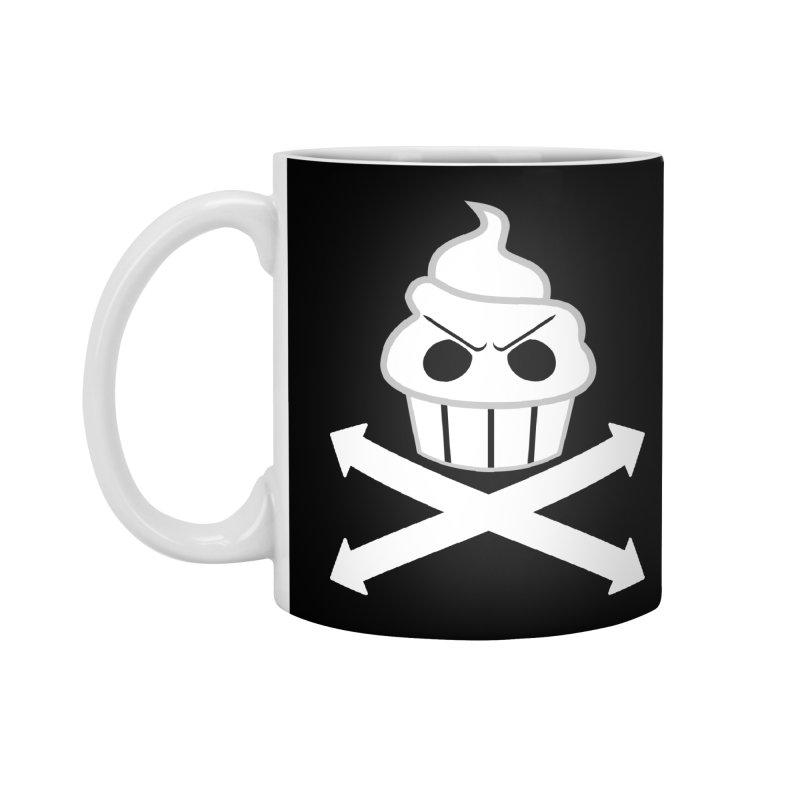 The Swirly Roger Accessories Standard Mug by WatchPony Clothing Collection