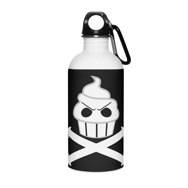 The Swirly Roger Accessories Water Bottle by WatchPony Clothing Collection