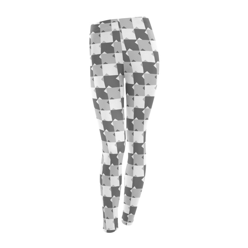 WHT Women's Leggings Bottoms by WatchPony Clothing Collection