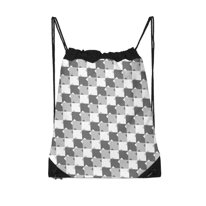 WHT Accessories Drawstring Bag Bag by WatchPony Clothing Collection