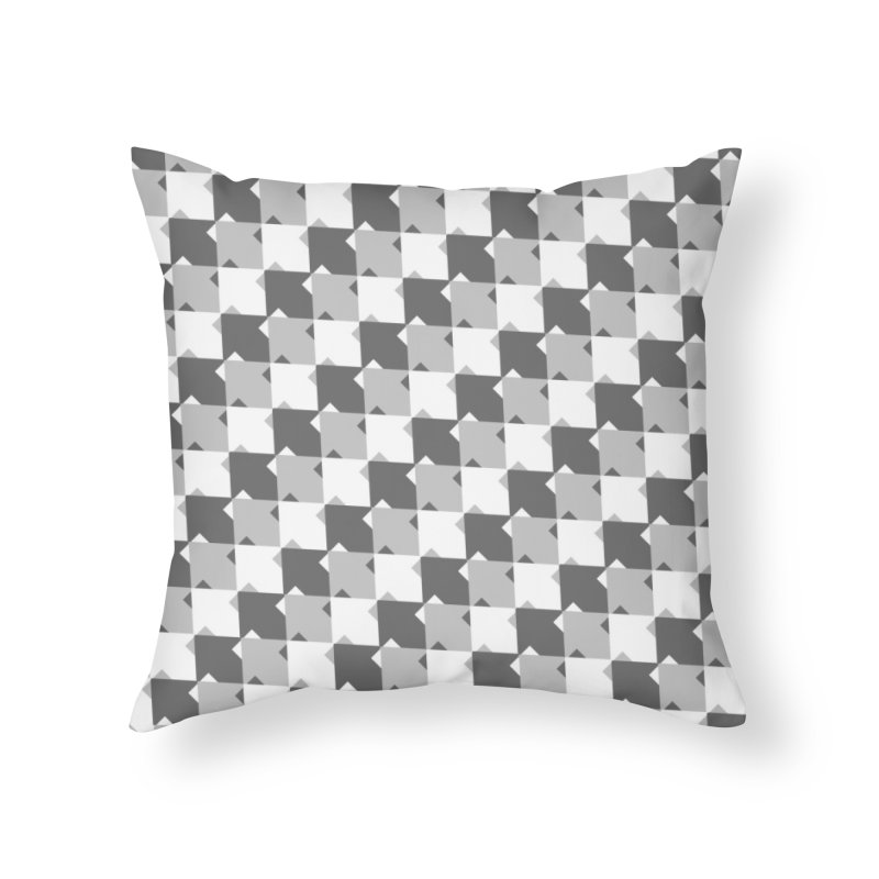 WHT Home Throw Pillow by WatchPony Clothing Collection