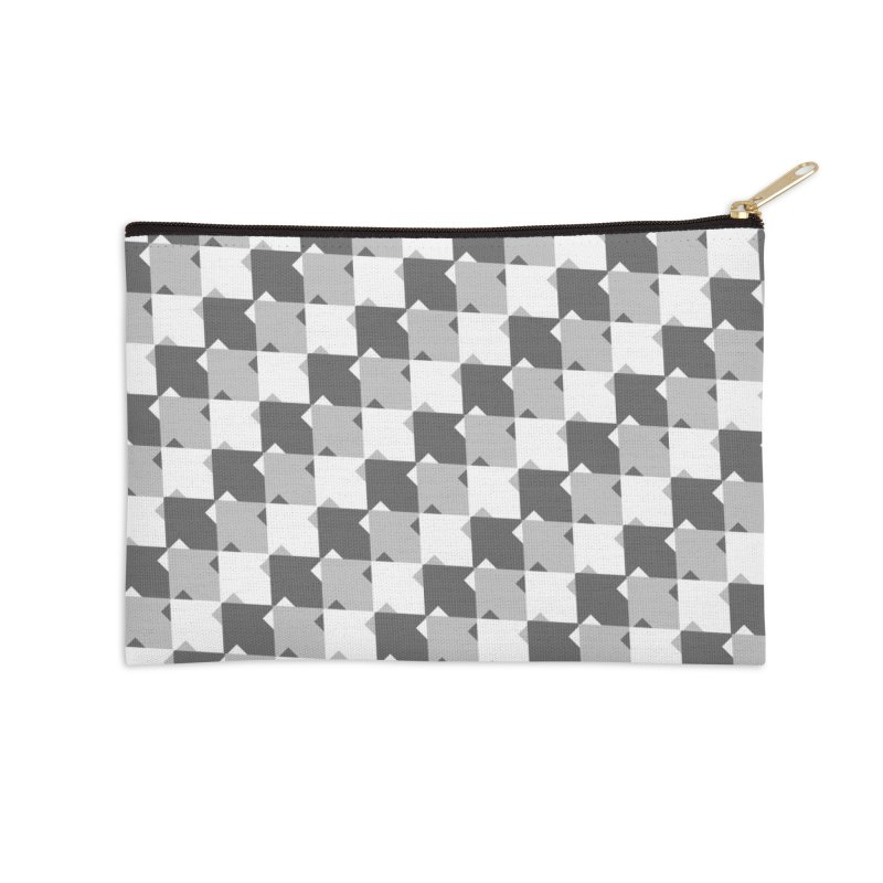 WHT Accessories Zip Pouch by WatchPony Clothing Collection