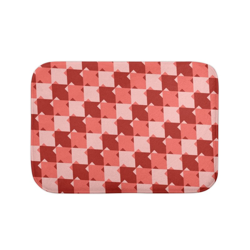 RED Home Bath Mat by WatchPony Clothing Collection