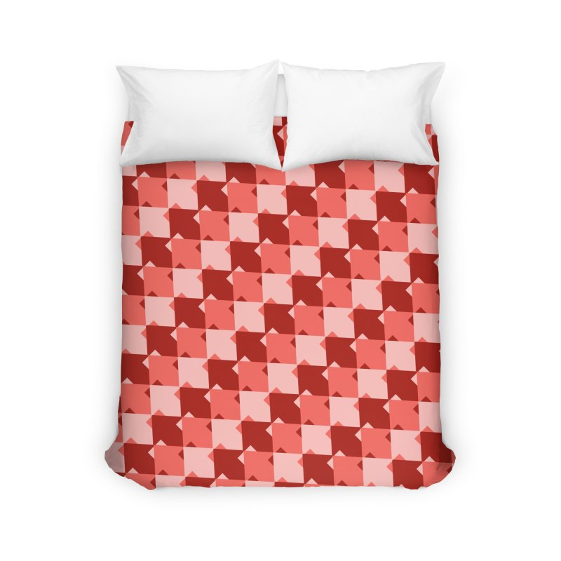 RED Home Duvet by WatchPony Clothing Collection
