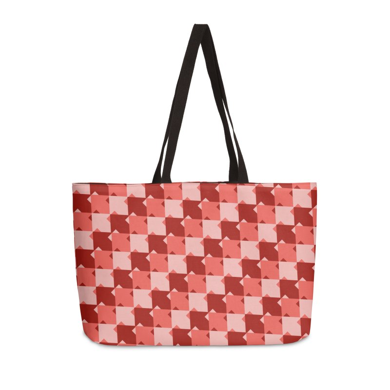 RED Accessories Weekender Bag Bag by WatchPony Clothing Collection