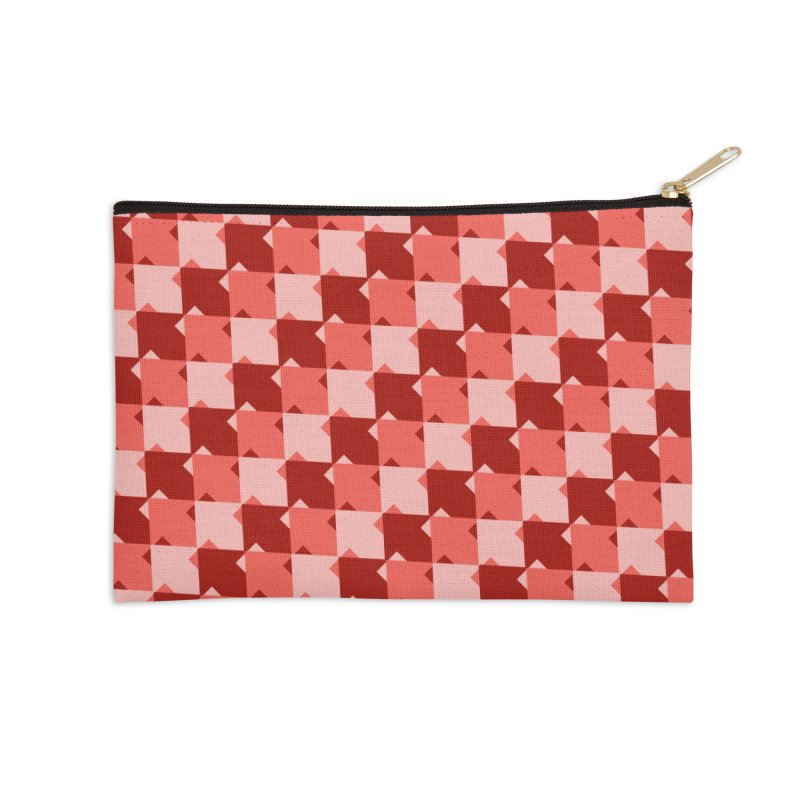 RED Accessories Zip Pouch by WatchPony Clothing Collection